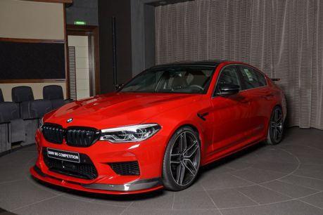 AC Schnitzer終於大改BMW M5 Competition!阿布達比火紅首發