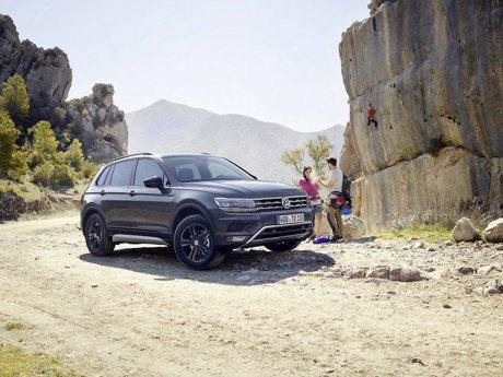 Volkswagen推出Tiguan Offroad越野車款 上山下海不是問題!