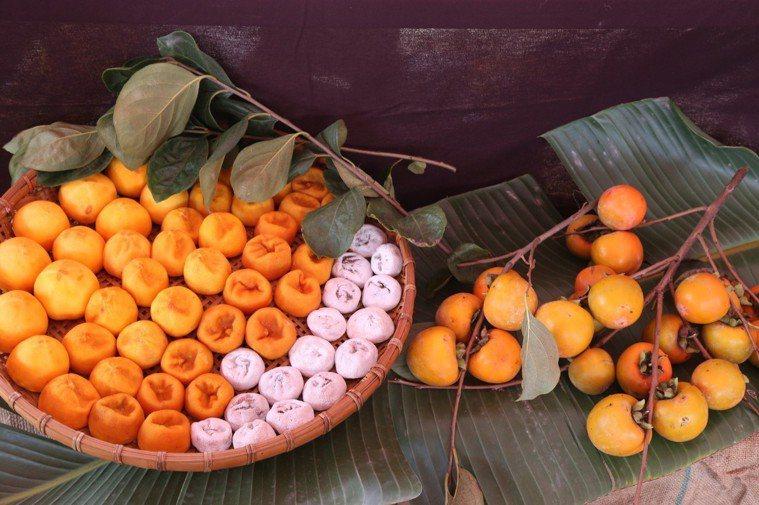 柿子加工的柿餅和柿霜都很喜愛。 聯合報系資料照 記者謝恩得/翻攝