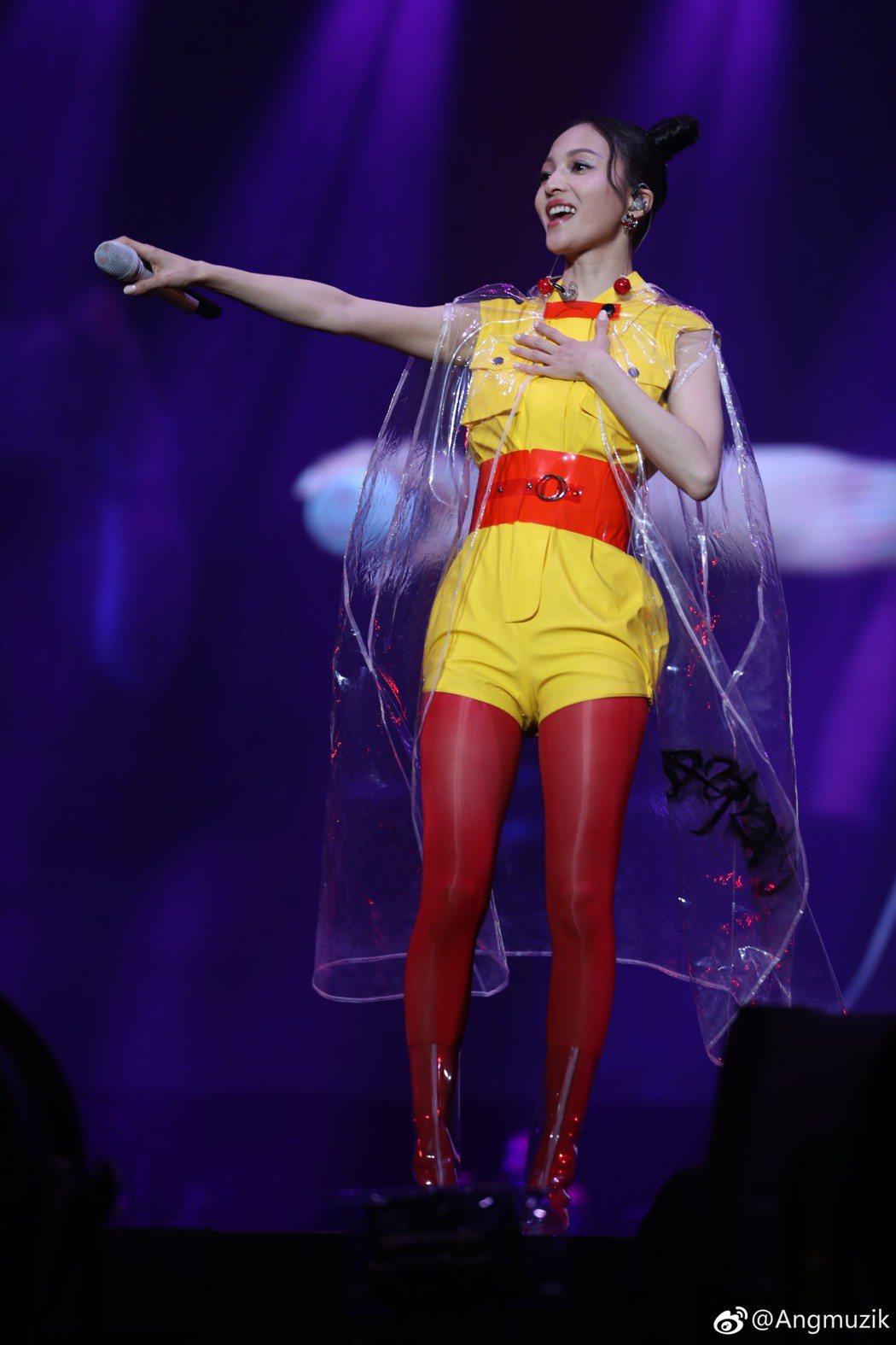 張韶涵「旅程」巡演於12月在台北小巨蛋登場。圖/摘自微博