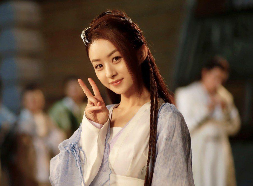 趙麗穎演出「楚喬傳」被封為最萌特工。圖/中天提供