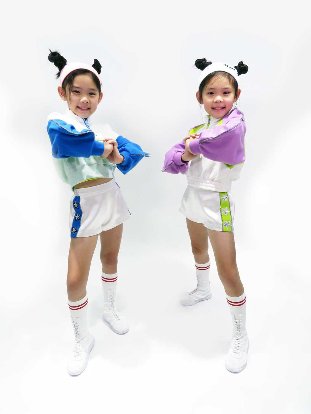 左左右右新造型走可愛、性感兼具的韓系少女風。圖/新視麗提供