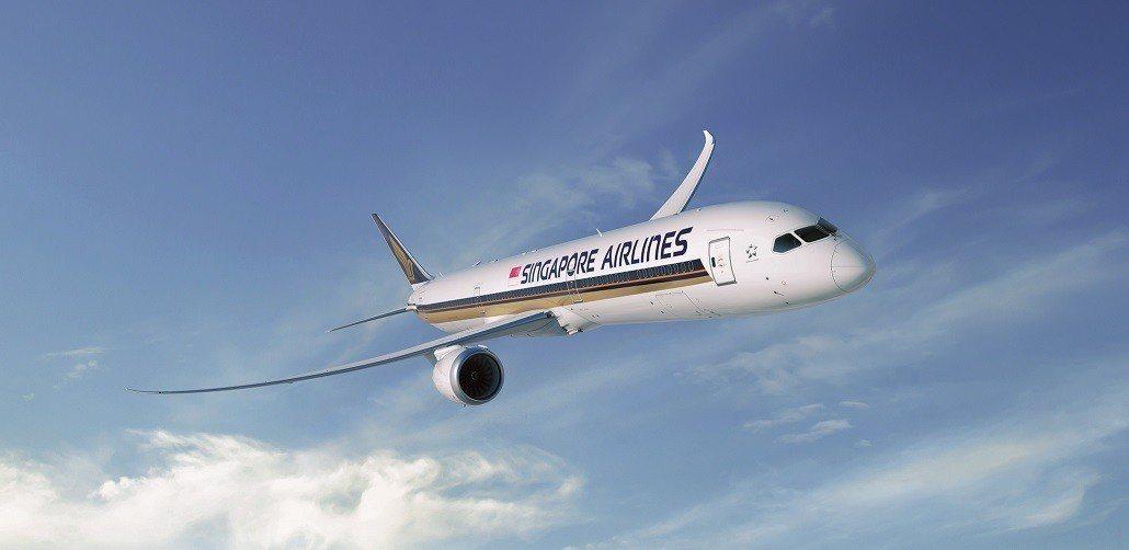 新加坡航空波音787-10將在明年元月起開航新加坡到台北航班。圖/新加坡航空提供