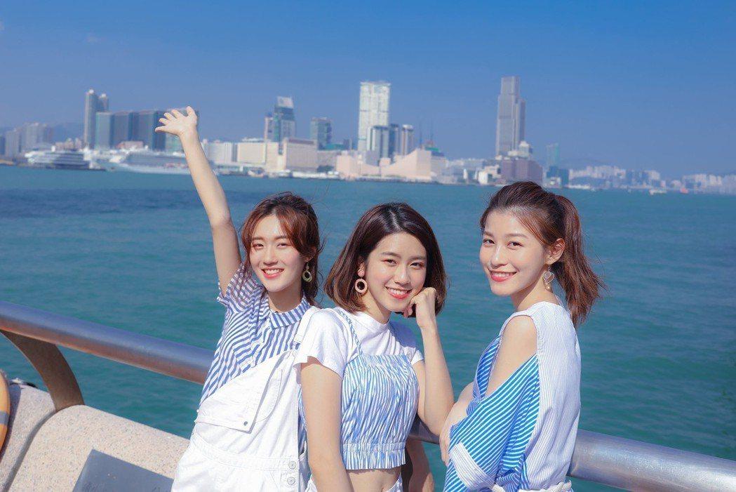 ALL-RANGE赴香港宣傳EP。圖/日光橘子提供