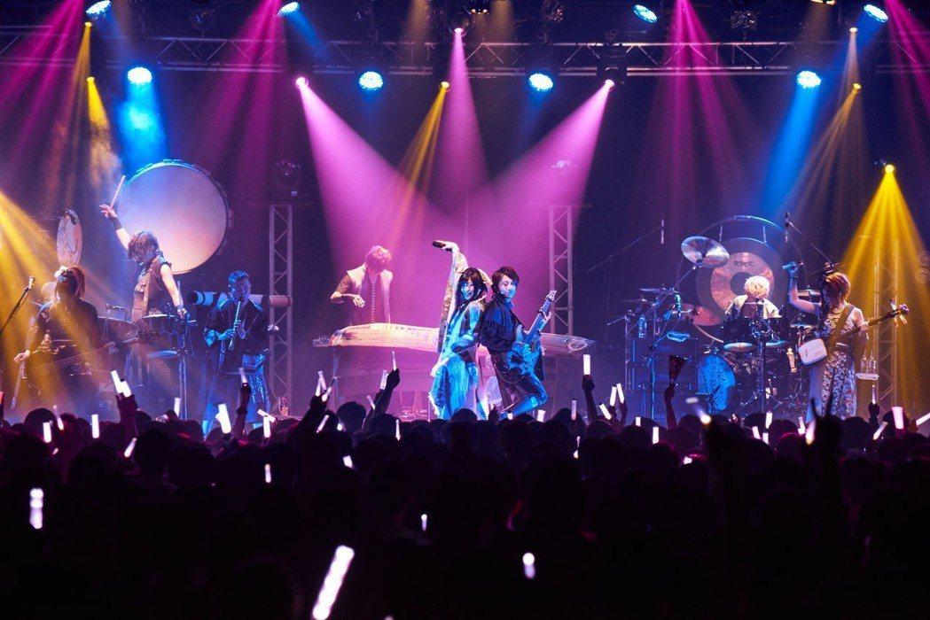 和樂器樂團今晚在華山演出。圖/愛貝克思提供
