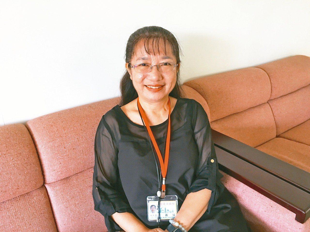 台北市工務局副局長張郁慧。 記者張世杰/攝影