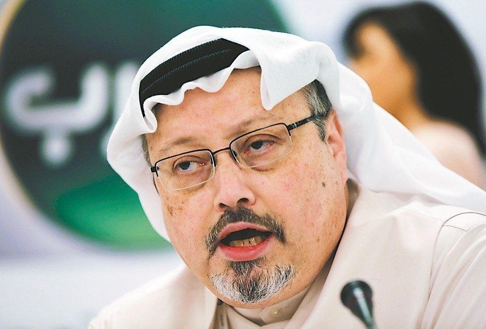 沙烏地阿拉伯記者哈紹吉。 (美聯社)