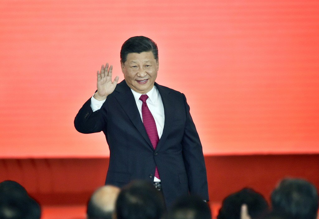 大陸國家主席習近平。 香港中通社