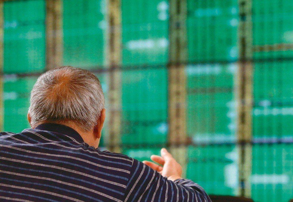 台股跌127點收10,889。聯合報系資料照