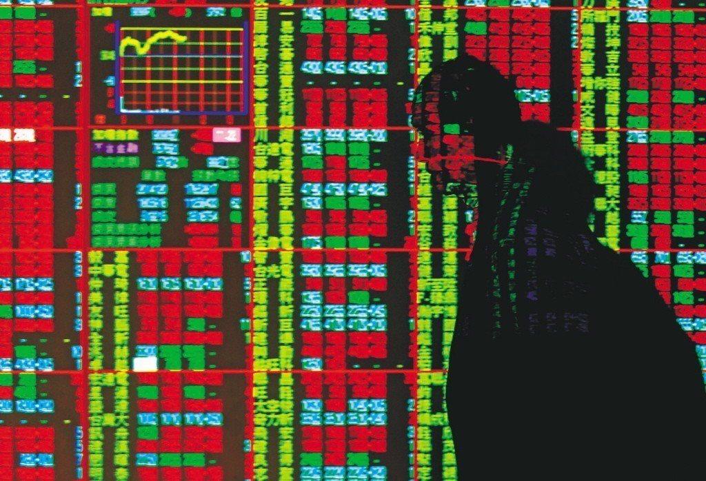 台北股市29日開高震盪,收盤漲27.14點,為9516.32點,漲幅0.29%,...