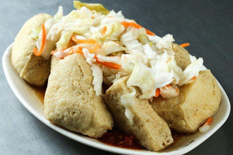 臭豆腐是台灣國民美食,網友試算賣臭豆腐的收益非常驚人。 聯合報系資料照