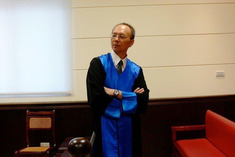 林紀元法官罹患肝癌,日前辭世。 圖/作者提供