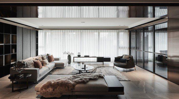 百坪豪宅訴求居住舒適感,營造具有個人風格的居住品味。 圖/馥華雲鼎提供