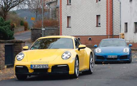 新舊Porsche 911同時現身 看起來很像其實差很大