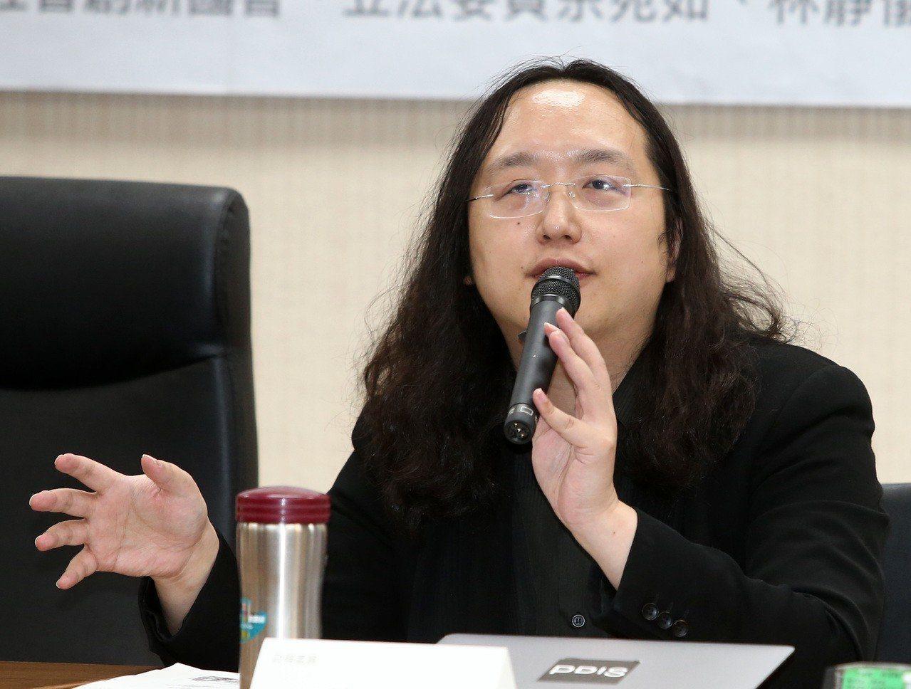 政院政務委員唐鳳。 聯合報系資料照片/記者林澔一攝影