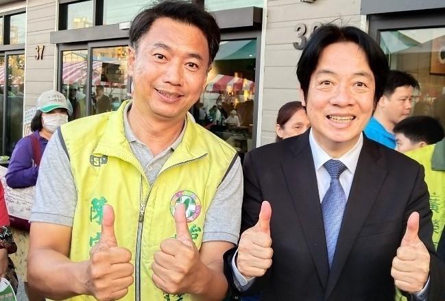 行政院長賴清德連續兩個週日回到台南助選,也抽出空擋幫多位市議員候選人錄音,盼透過...