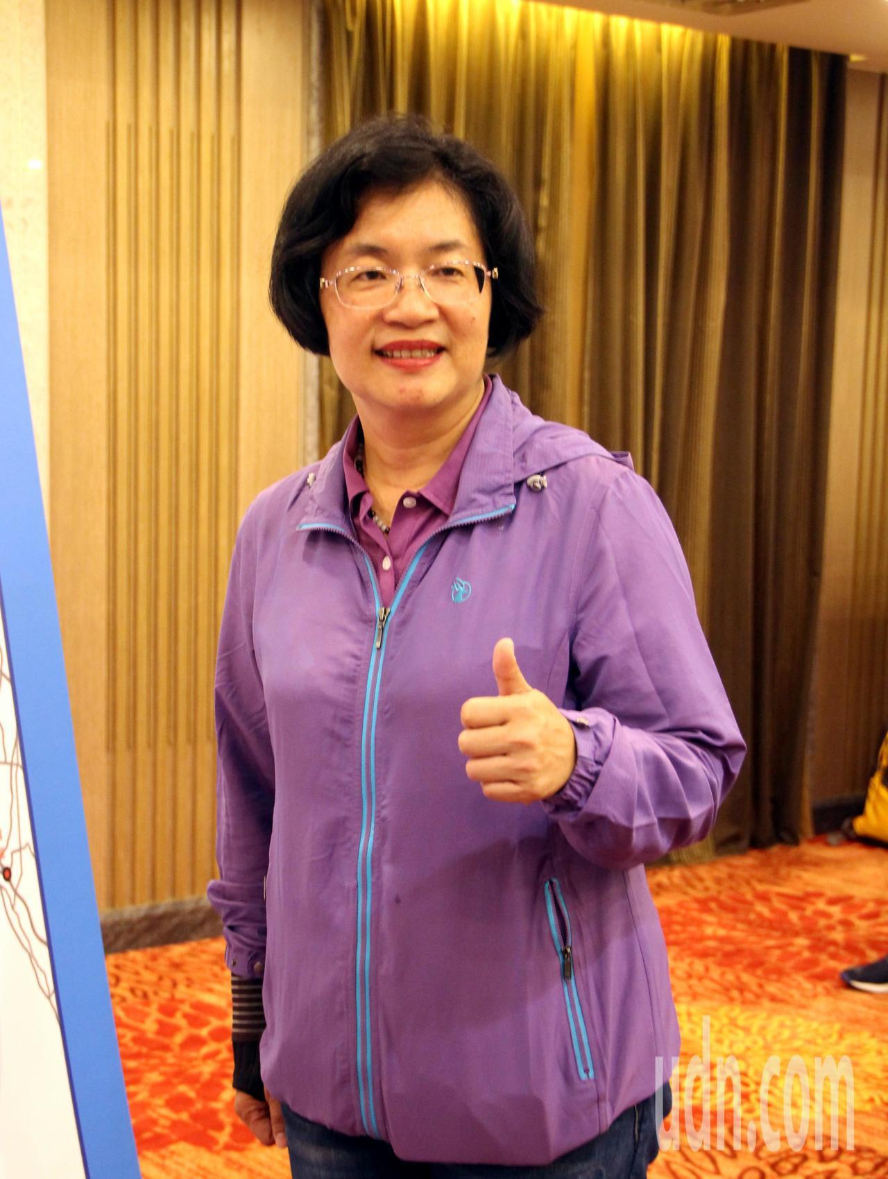 彰化縣長選舉最新民調顯示,國民黨候選人王惠美領先。記者林敬家/攝影