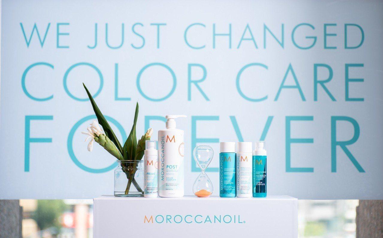 看好持續成長的染髮護色新需求,摩洛哥優油MOROCCANOIL近日在台發表全新「...