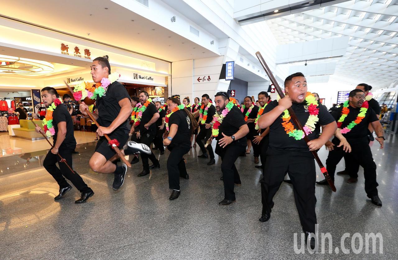 即將登場的「2018台中世界花卉博覽會」,第1支海外表演團隊-紐西蘭毛利傳統舞蹈...