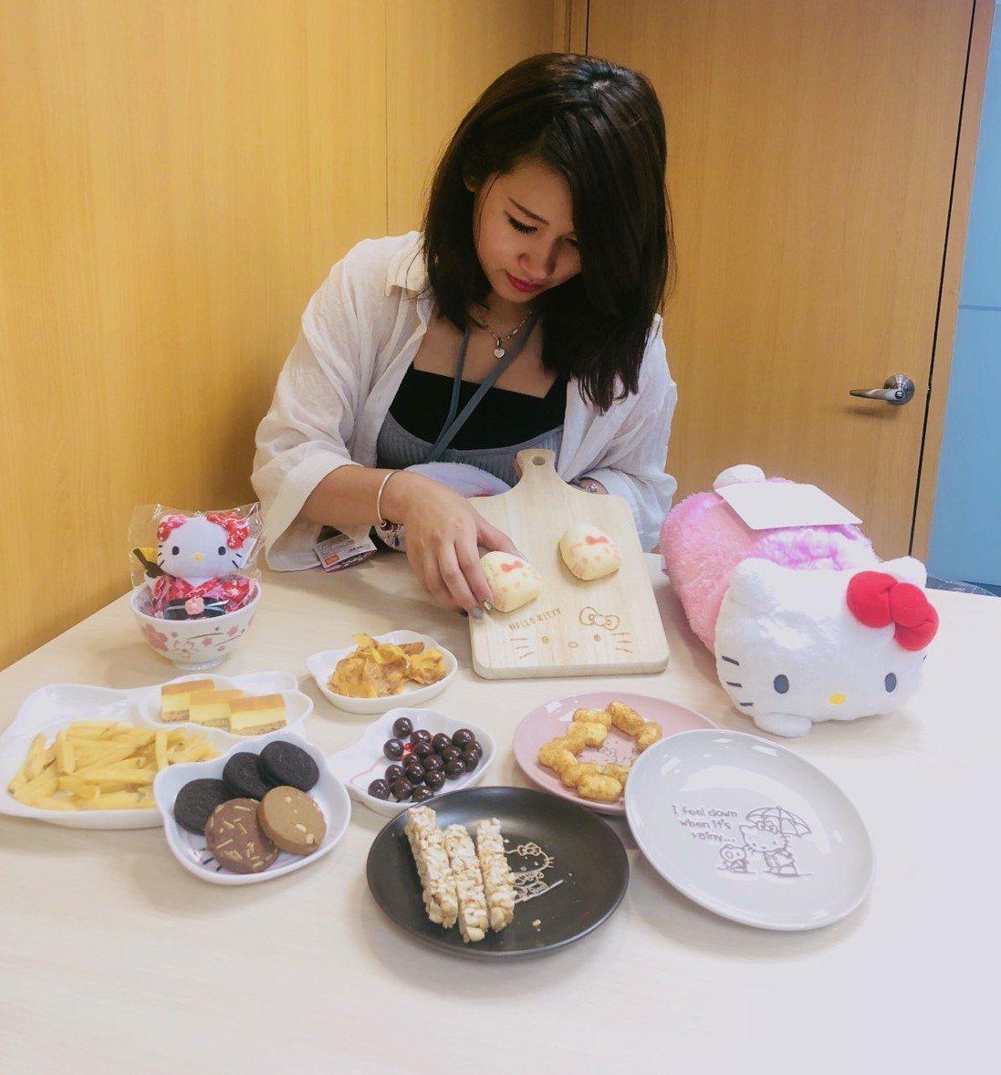 Hello Kitty將迎接44歲生日,樂天看好將帶動相關商品業績成長。圖/樂天...
