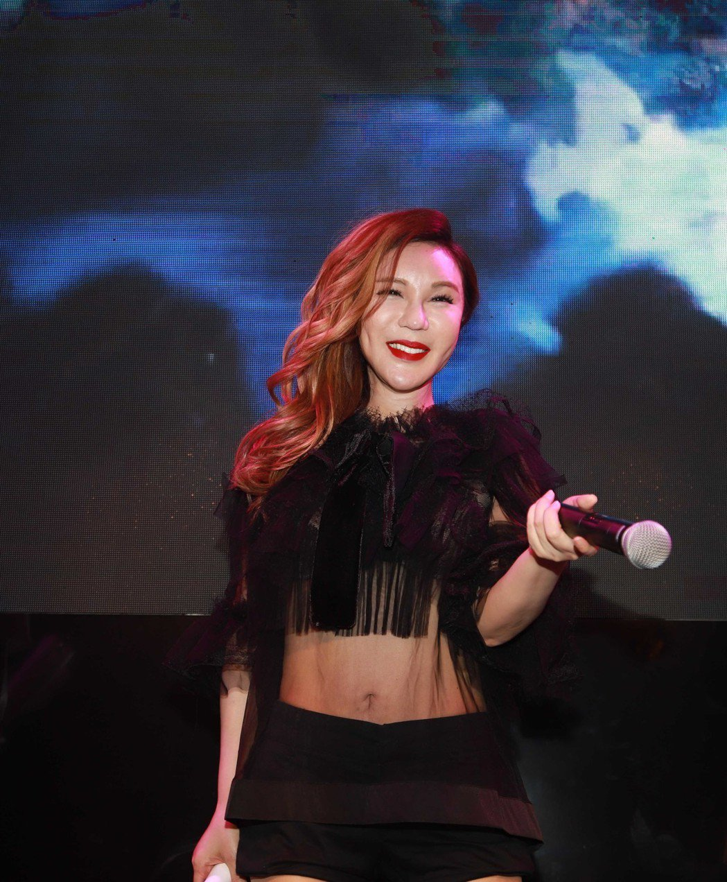 利菁形容自己辦了場「親唱會」。圖/伊林娛樂提供