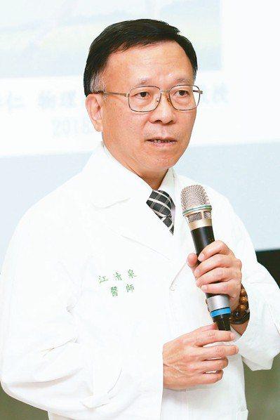 輔大醫院骨關節暨醫療器材副院長江清泉。 圖╱本報資料照片