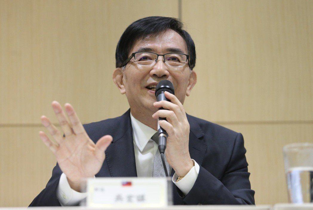 交通部長吳宏謀。 圖/聯合報系資料照片