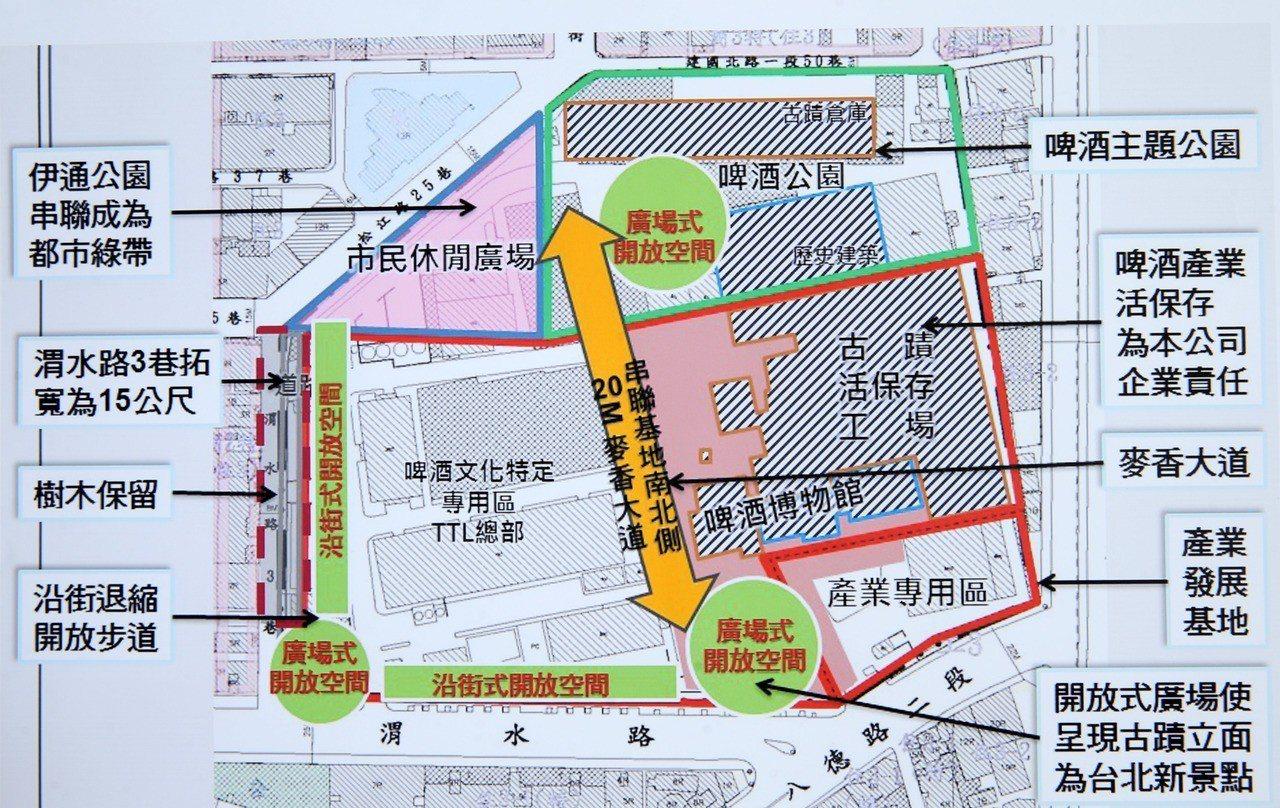 台北啤酒工場地上權案是今年繼台北雙子星重啟標售後,台北市面積第二大的招標案。 (...