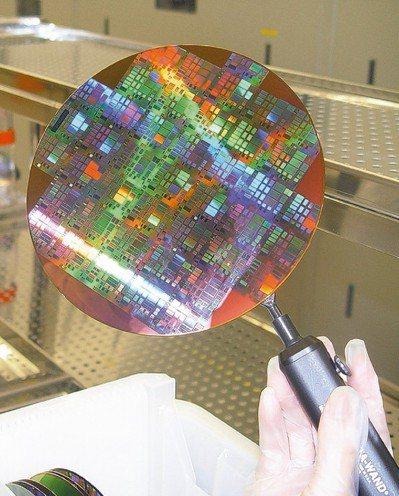 盤面上矽晶圓股的表現相當整齊。 (本報系資料庫)