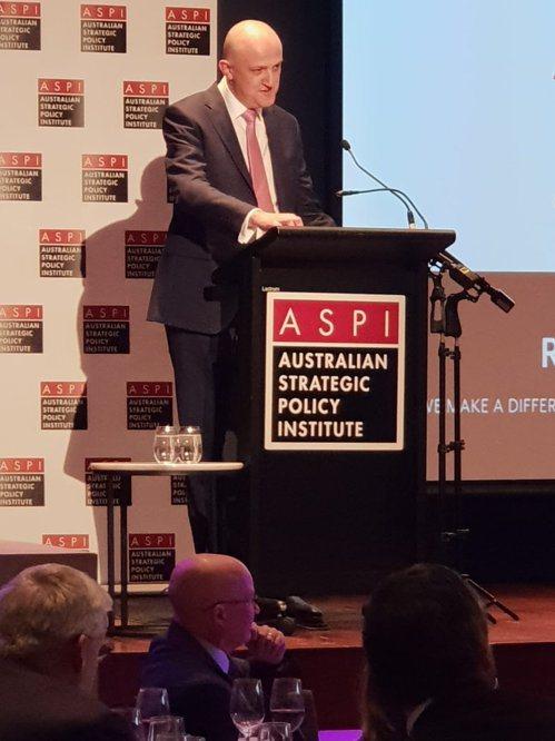 澳洲通訊局局長勃吉斯(Mike Burgess)。 圖/擷取自ASD推特