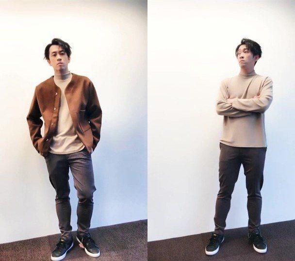 陳漢典大秀分身術,以自拍分身功能大鬧新歌《先不要》。 iM短影/提供