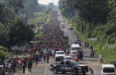 阻截現代篷車隊 美國調兵到邊境