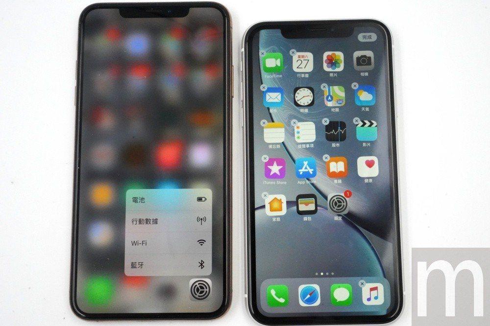 兩者差異還包含僅iPhone XS系列支援3D Touch功能,而iPhone ...