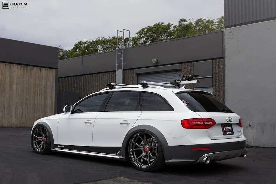 大改Audi A4 Allroad趴超低 是要跟當家S6拼場嗎?