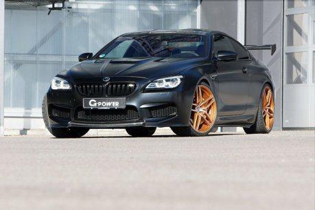 G-Power再度動手BMW M6 但看起來竟像同門師弟?