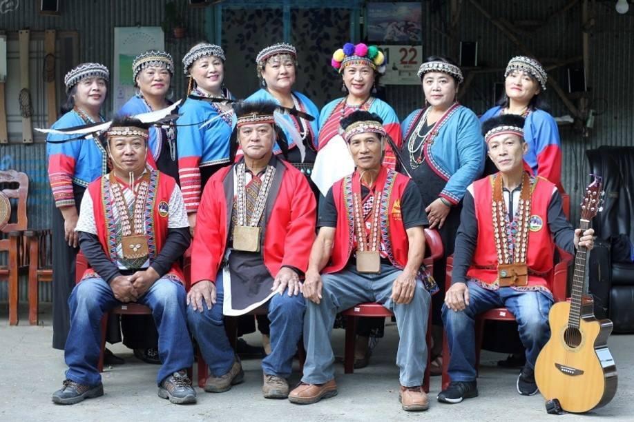 山美部落的達瑪雅耶合唱團。圖/阿里山國家風景區管理處提供