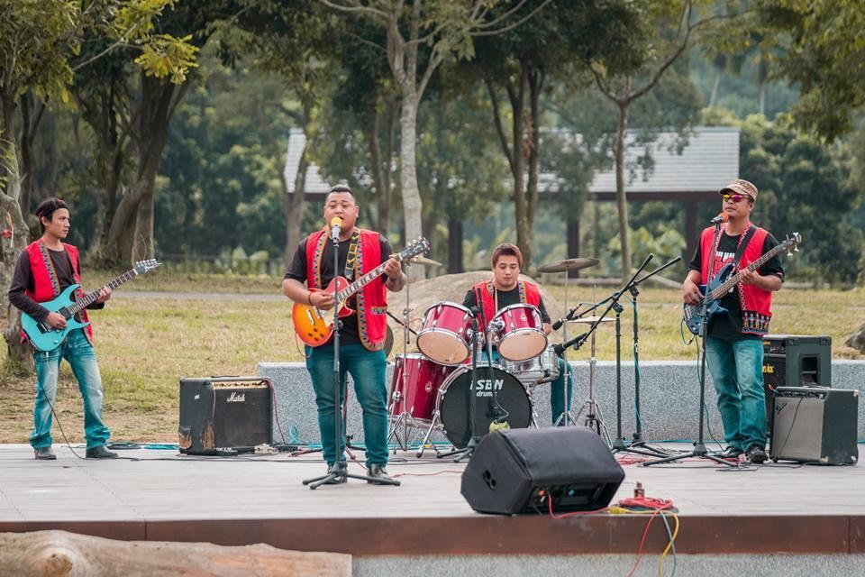 擁有渾厚嗓音的「伍鉉樂團」。圖/阿里山國家風景區管理處提供