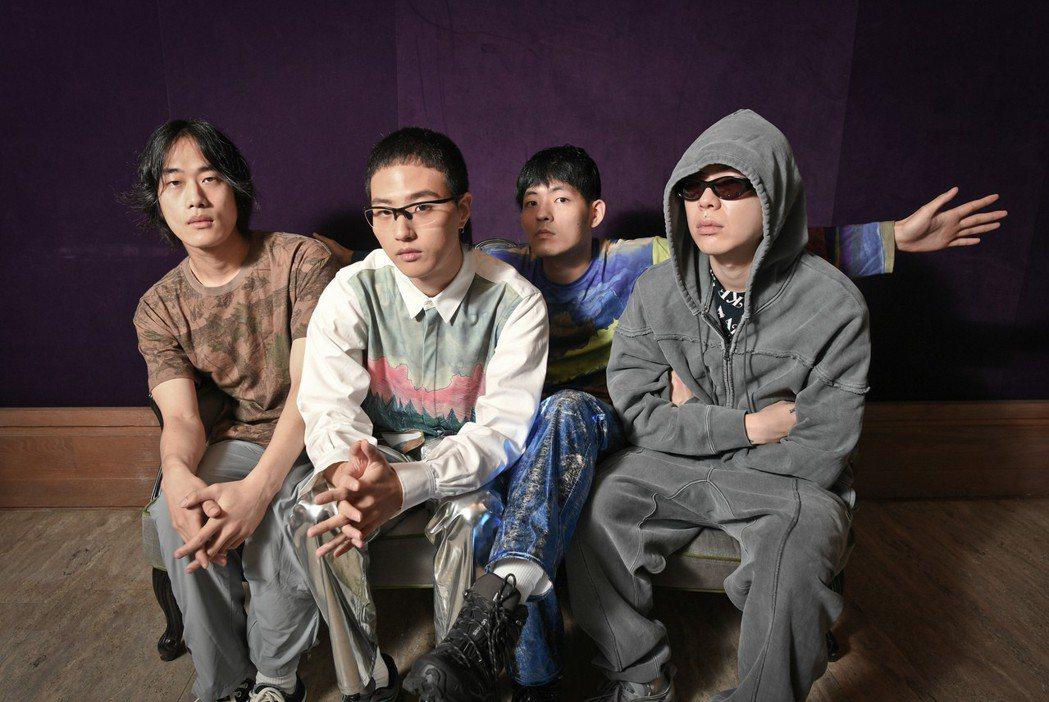 Hyukoh在演出前先接受台灣媒體訪問。圖/理想國提供