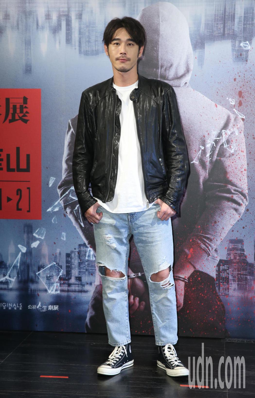 黃騰浩將在公視與光點華山共同推出影展中演出。記者陳正興/攝影