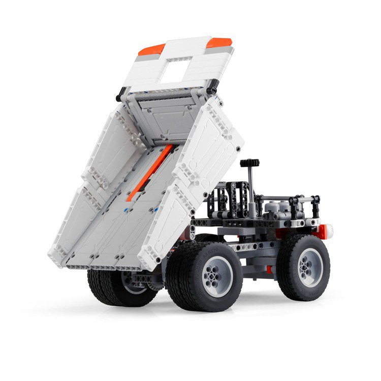 米兔積木礦山卡車,建議售價565元。圖/小米台灣提供