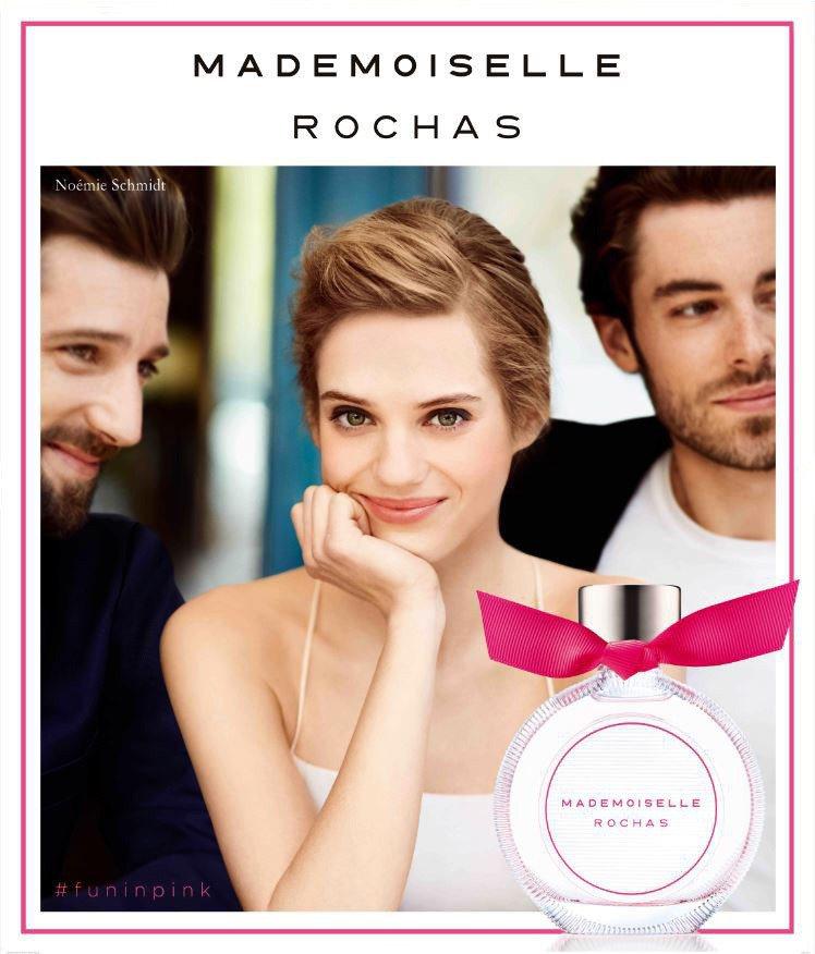 Mademoiselle Rochas羅莎小姐淡香水以巴黎女孩的坦率俏皮為發想。...