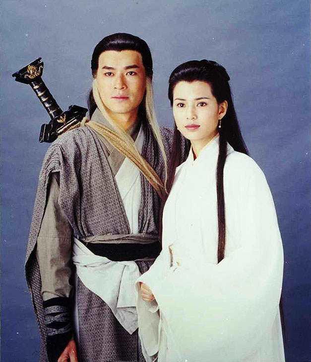 古天樂與李若彤的「神鵰俠侶」,至今仍讓人津津樂道。圖/報系資料照片