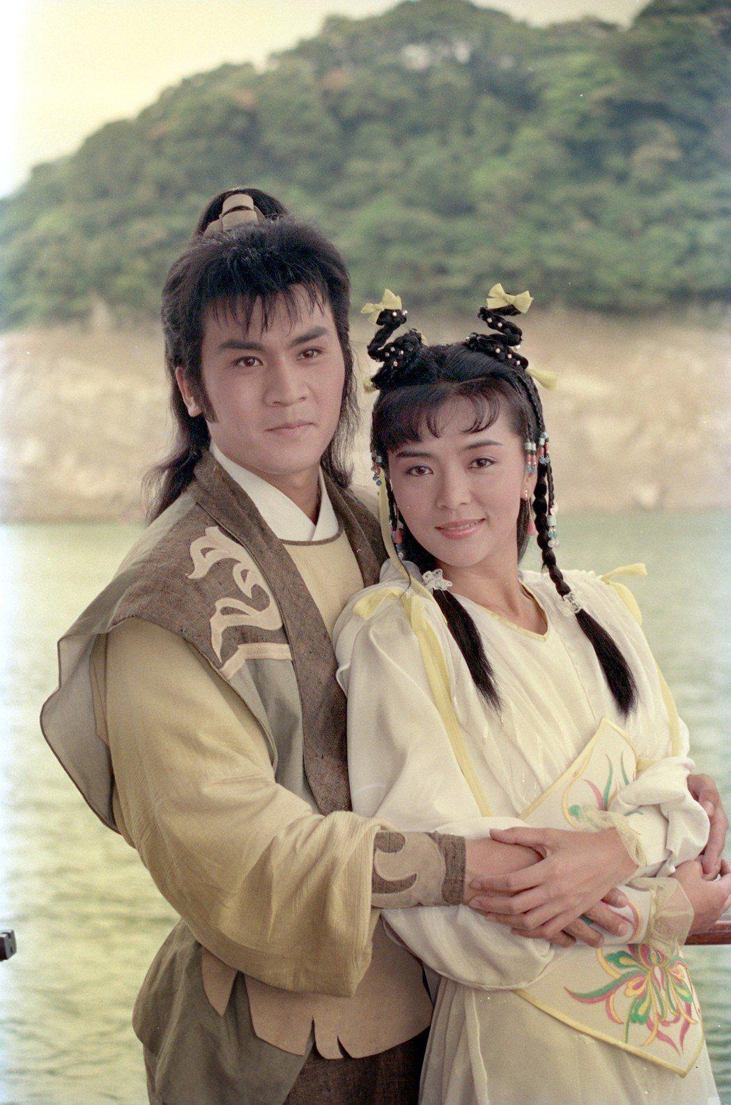 黃文豪與陳玉蓮領銜主演台版「射鵰英雄傳」。圖/報系資料照片