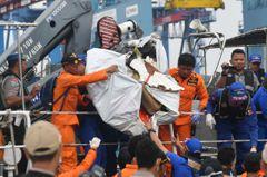 印尼失事客機速度表故障 前段航程急墜多次像雲霄飛車