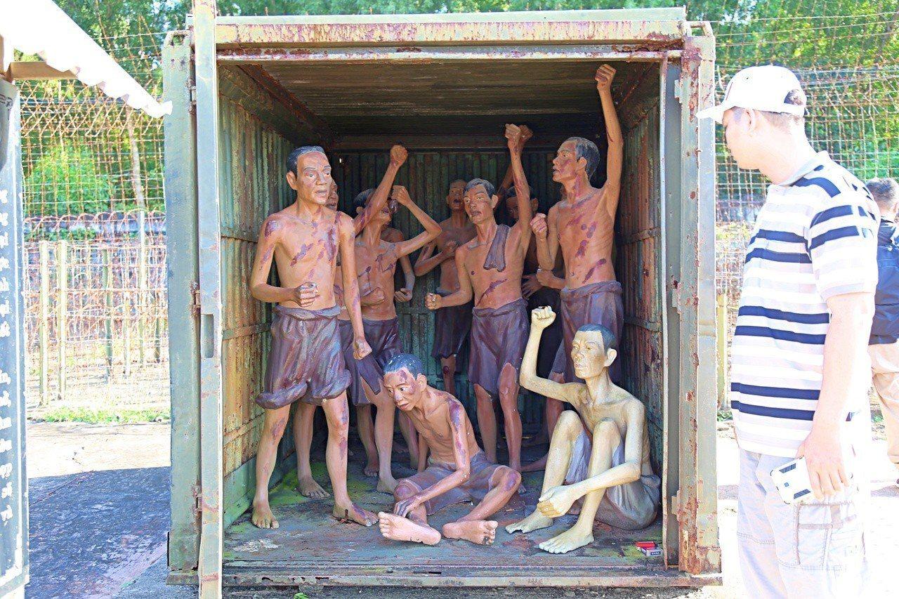 富國島監獄曾有4萬多人被關在此處。記者魏妤庭/攝影
