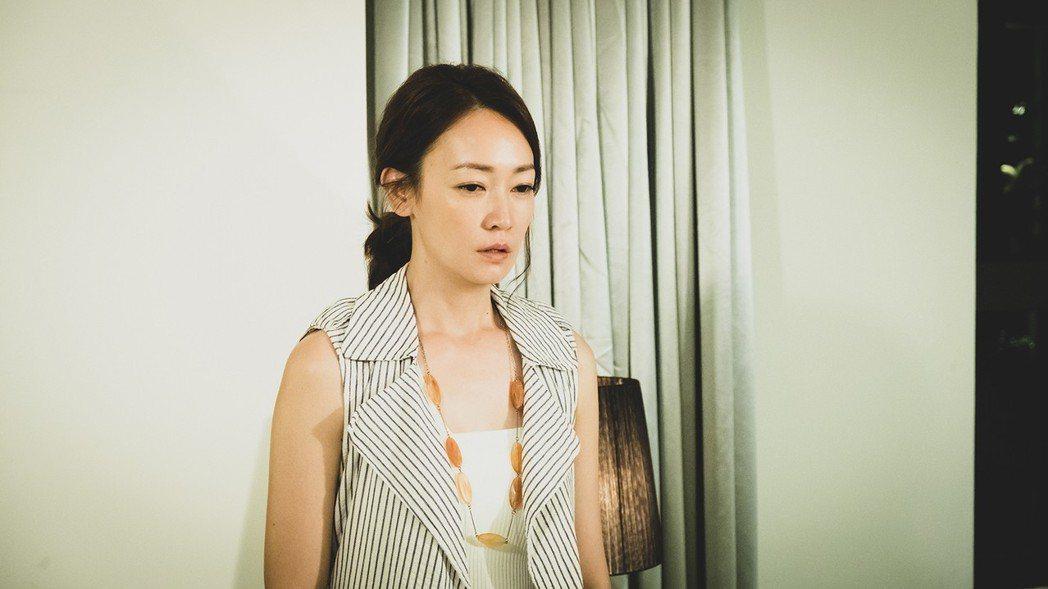 潘慧如拍攝喪父戲碼哭到停不住。圖/TVBS提供