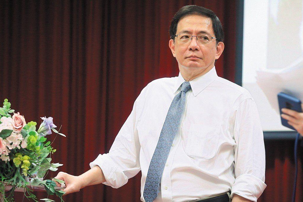 台大校長當選人管中閔。 聯合報系資料照片/記者黃仲裕攝影