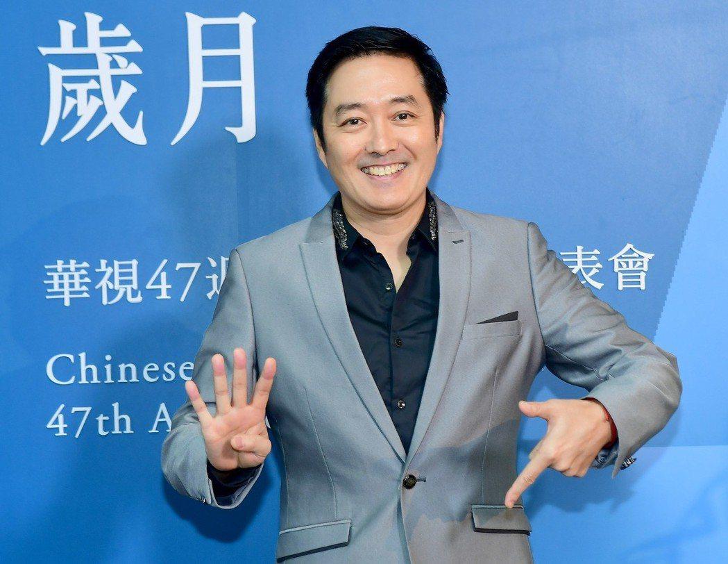李志希出席華視台慶。圖/華視提供