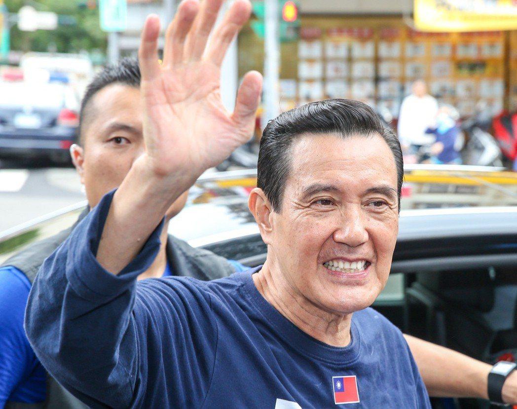 前總統馬英九曾自比是「射鵰英雄傳」的大俠郭靖。 圖/聯合報系資料照片
