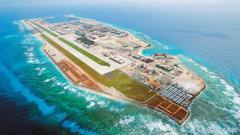 中共南沙島礁設這設施...中美南海軍事較勁恐升溫